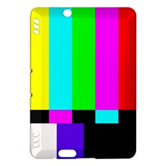 Color Bars & Tones Kindle Fire Hdx Hardshell Case by Simbadda