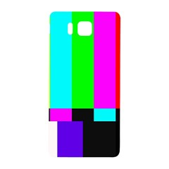 Color Bars & Tones Samsung Galaxy Alpha Hardshell Back Case by Simbadda