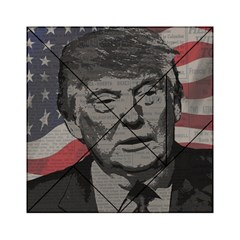 Trump Acrylic Tangram Puzzle (6  X 6 ) by Valentinaart
