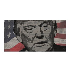 Trump Satin Wrap by Valentinaart