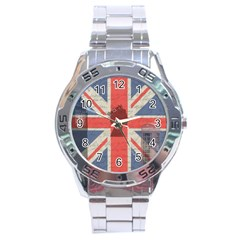 Vintage London Stainless Steel Analogue Watch by Valentinaart