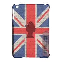 Vintage London Apple Ipad Mini Hardshell Case (compatible With Smart Cover) by Valentinaart