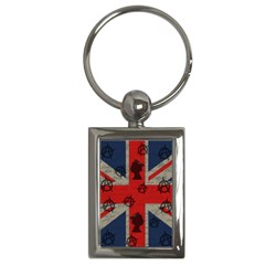 United Kingdom  Key Chains (rectangle)  by Valentinaart