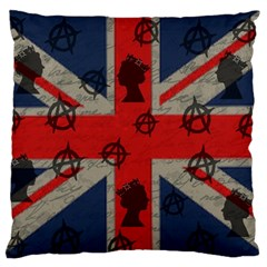 United Kingdom  Standard Flano Cushion Case (one Side) by Valentinaart