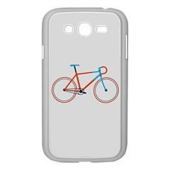 Bicycle Sports Drawing Minimalism Samsung Galaxy Grand DUOS I9082 Case (White) by Simbadda