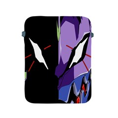 Monster Face Drawing Paint Apple Ipad 2/3/4 Protective Soft Cases by Simbadda