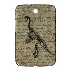 Dinosaur Skeleton Samsung Galaxy Note 8 0 N5100 Hardshell Case  by Valentinaart