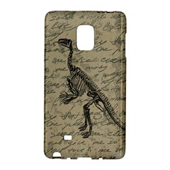 Dinosaur Skeleton Galaxy Note Edge by Valentinaart