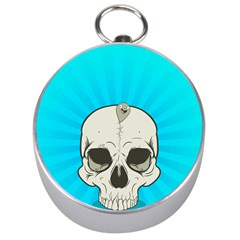 Skull Ball Line Schedule Silver Compasses by Simbadda