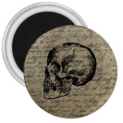 Skull 3  Magnets by Valentinaart