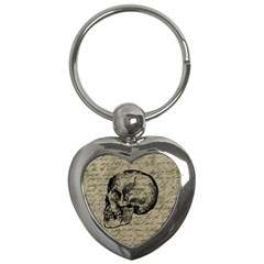 Skull Key Chains (heart)  by Valentinaart