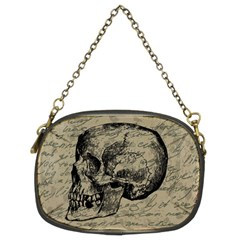 Skull Chain Purses (two Sides)  by Valentinaart