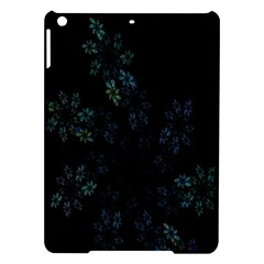 Fractal Pattern Black Background Ipad Air Hardshell Cases by Simbadda
