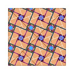 Overlaid Patterns Acrylic Tangram Puzzle (6  X 6 ) by Simbadda