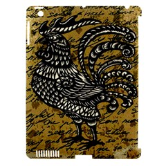 Vintage Rooster  Apple Ipad 3/4 Hardshell Case (compatible With Smart Cover) by Valentinaart