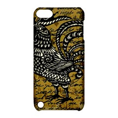 Vintage Rooster  Apple Ipod Touch 5 Hardshell Case With Stand by Valentinaart
