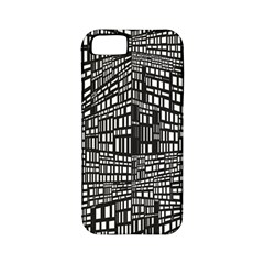 Recursive Subdivision Between 5 Source Lines Screen Black Apple Iphone 5 Classic Hardshell Case (pc+silicone)