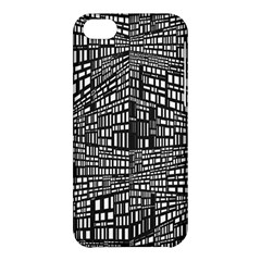 Recursive Subdivision Between 5 Source Lines Screen Black Apple Iphone 5c Hardshell Case by Simbadda