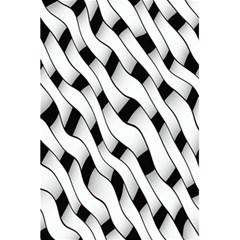 Black And White Pattern 5 5  X 8 5  Notebooks by Simbadda