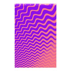 Pink And Purple Shower Curtain 48  X 72  (small)  by Simbadda