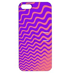 Pink And Purple Apple iPhone 5 Hardshell Case with Stand by Simbadda