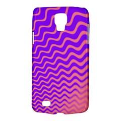 Pink And Purple Galaxy S4 Active by Simbadda