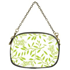 Leaves Pattern Seamless Chain Purses (one Side)  by Simbadda