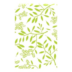 Leaves Pattern Seamless Shower Curtain 48  X 72  (small)  by Simbadda