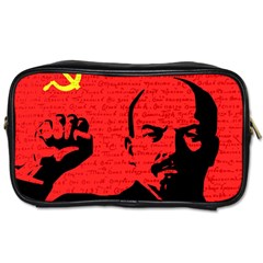 Lenin  Toiletries Bags 2 Side by Valentinaart
