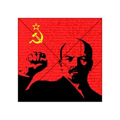 Lenin  Acrylic Tangram Puzzle (4  X 4 ) by Valentinaart
