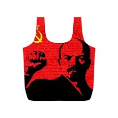Lenin  Full Print Recycle Bags (s)  by Valentinaart