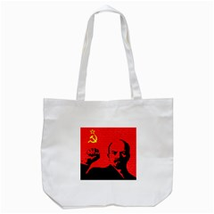 Lenin  Tote Bag (white) by Valentinaart