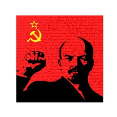 Lenin  Small Satin Scarf (square) by Valentinaart