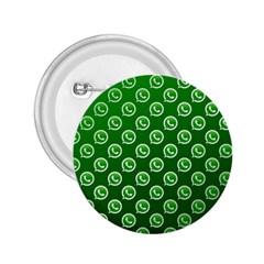 Whatsapp Logo Pattern 2 25  Buttons by Simbadda