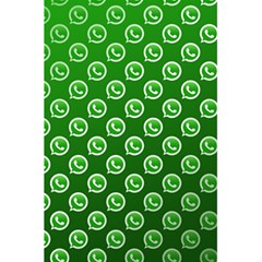 Whatsapp Logo Pattern 5 5  X 8 5  Notebooks by Simbadda