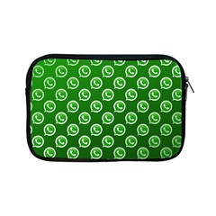 Whatsapp Logo Pattern Apple iPad Mini Zipper Cases by Simbadda