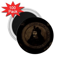 Count Vlad Dracula 2 25  Magnets (100 Pack)  by Valentinaart
