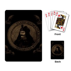 Count Vlad Dracula Playing Card by Valentinaart