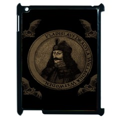 Count Vlad Dracula Apple Ipad 2 Case (black) by Valentinaart