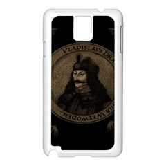 Count Vlad Dracula Samsung Galaxy Note 3 N9005 Case (white) by Valentinaart