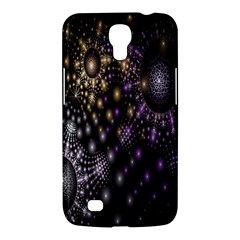 Fractal Patterns Dark Circles Samsung Galaxy Mega 6 3  I9200 Hardshell Case by Simbadda