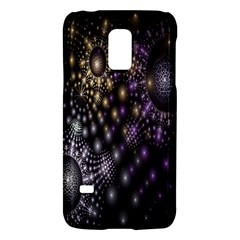 Fractal Patterns Dark Circles Galaxy S5 Mini by Simbadda