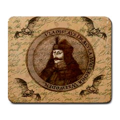 Count Vlad Dracula Large Mousepads by Valentinaart