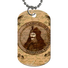 Count Vlad Dracula Dog Tag (one Side) by Valentinaart