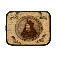 Count Vlad Dracula Netbook Case (small)  by Valentinaart