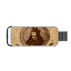 Count Vlad Dracula Portable Usb Flash (one Side) by Valentinaart