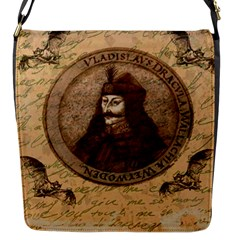 Count Vlad Dracula Flap Messenger Bag (s) by Valentinaart