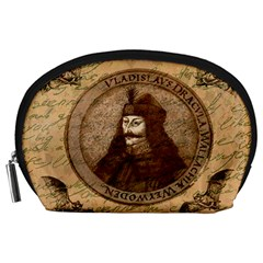 Count Vlad Dracula Accessory Pouches (large)  by Valentinaart