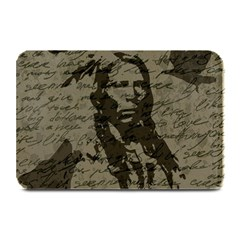 Indian chief Plate Mats by Valentinaart