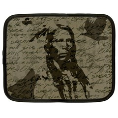 Indian Chief Netbook Case (xl)  by Valentinaart